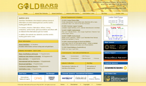 Gold Bars Worldwide Website